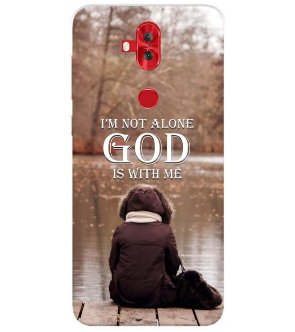 God is with Me Back Cover for Asus Zenfone 5 Lite ZC600KL