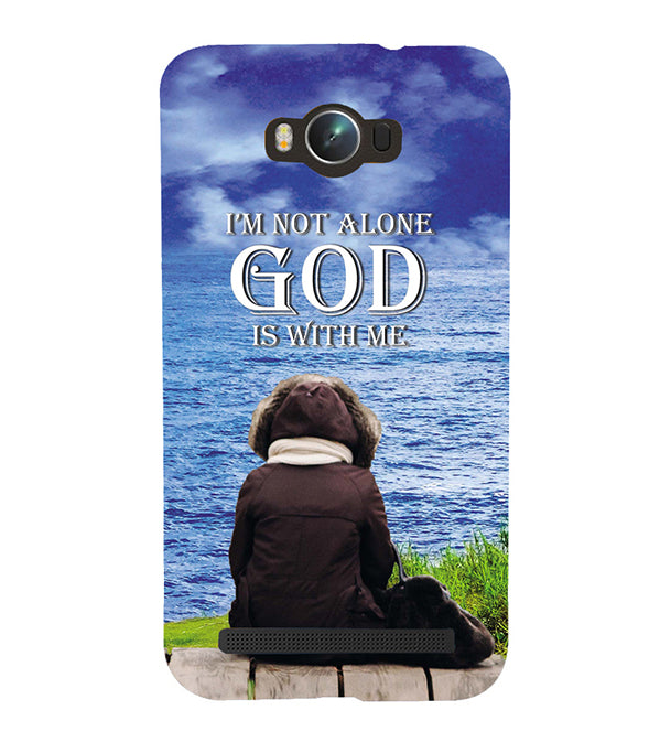God is with Me Back Cover for Asus Zenfone Max ZC550KL