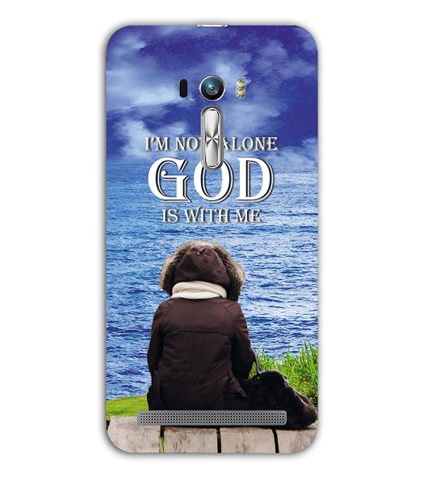 God is with Me Back Cover for Asus Zenfone Selfie
