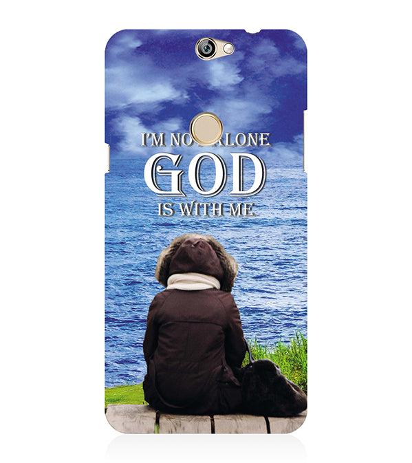 God is with Me Back Cover for Coolpad Max