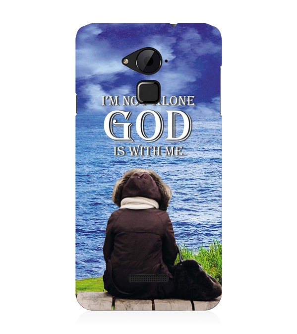 God is with Me Back Cover for Coolpad Note 3