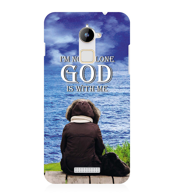 God is with Me Back Cover for Coolpad Note 3 Lite
