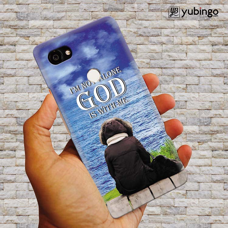 God is with Me Back Cover for Google Pixel 2 XL (6 Inch Screen)