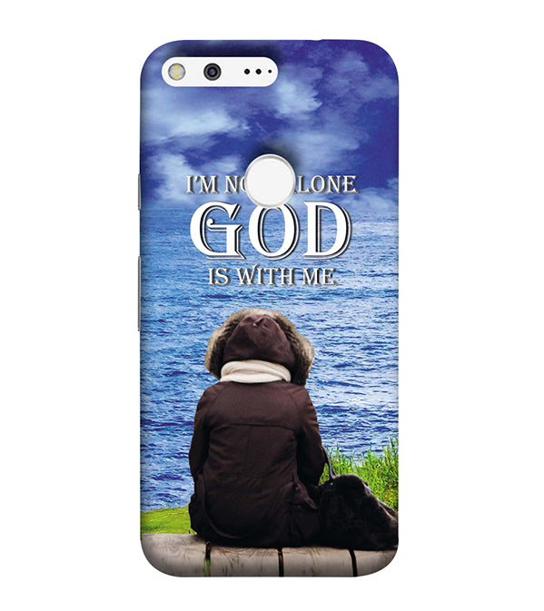 God is with Me Back Cover for Google Pixel