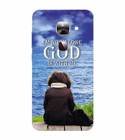 God is with Me Back Cover for LeEco Le 2s