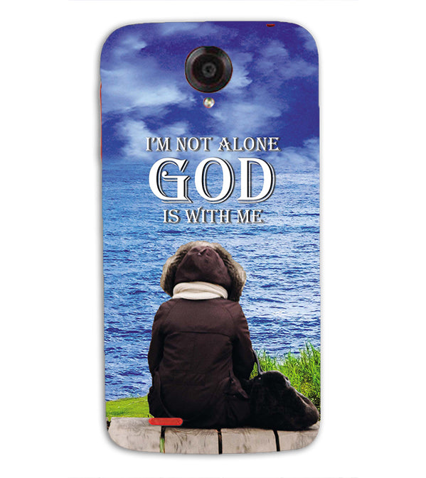 God is with Me Back Cover for Lenovo S820