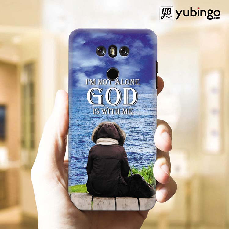 God is with Me Back Cover for LG G6