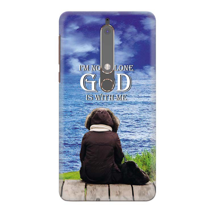 God is with Me Back Cover for Nokia 6 (2018)