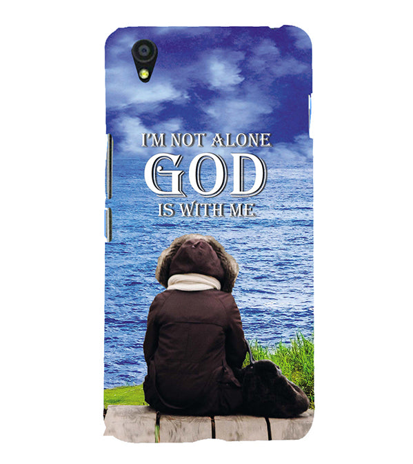 God is with Me Back Cover for OnePlus X