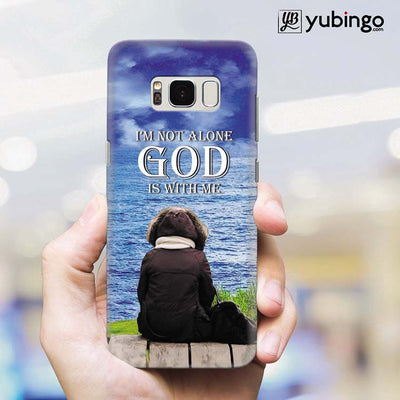 God is with Me Back Cover for Samsung Galaxy S8 Plus-Image2