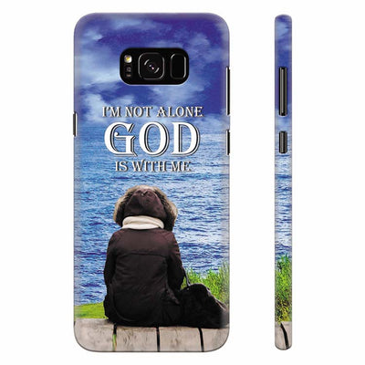 God is with Me Back Cover for Samsung Galaxy S8 Plus