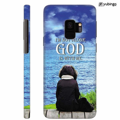 God is with Me Back Cover for Samsung Galaxy S9