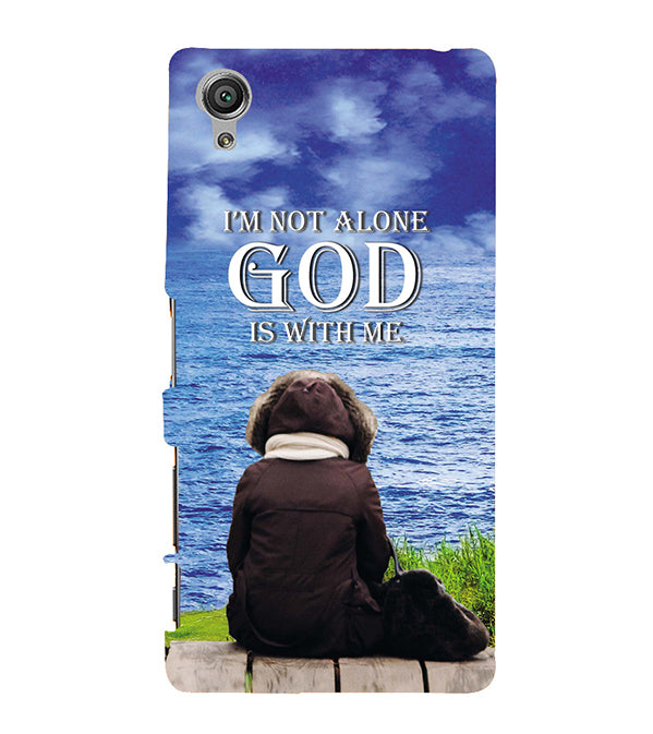 God is with Me Back Cover for Sony Xperia X