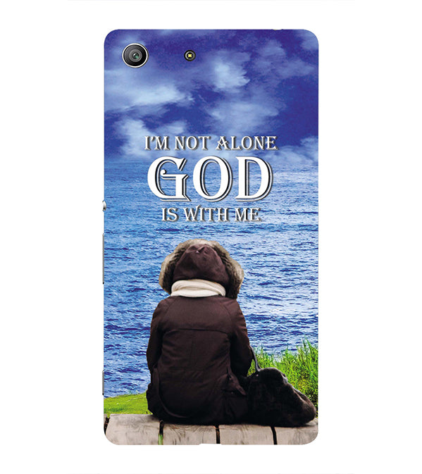 God is with Me Back Cover for Sony Xperia Z3 Compact