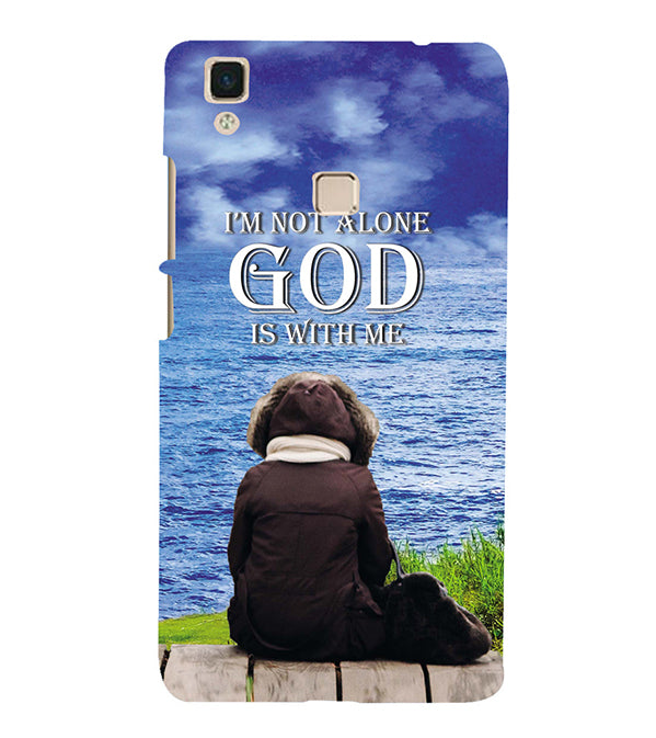 God is with Me Back Cover for Vivo V3Max