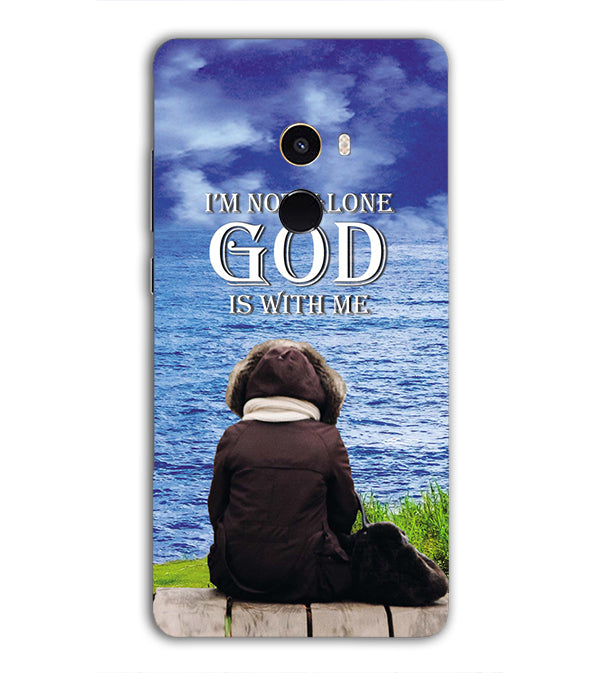 God is with Me Back Cover for Xiaomi Mix 2