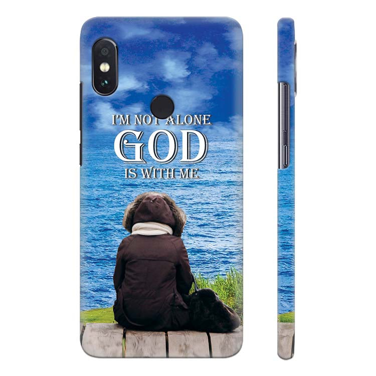 9eeaabe46 Buy Printed God is with Me Mobile Case for Xiaomi Redmi Note 5 Pro ...