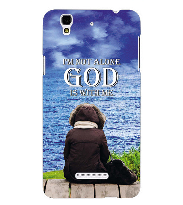 God is with Me Back Cover for Yu Yureka Plus