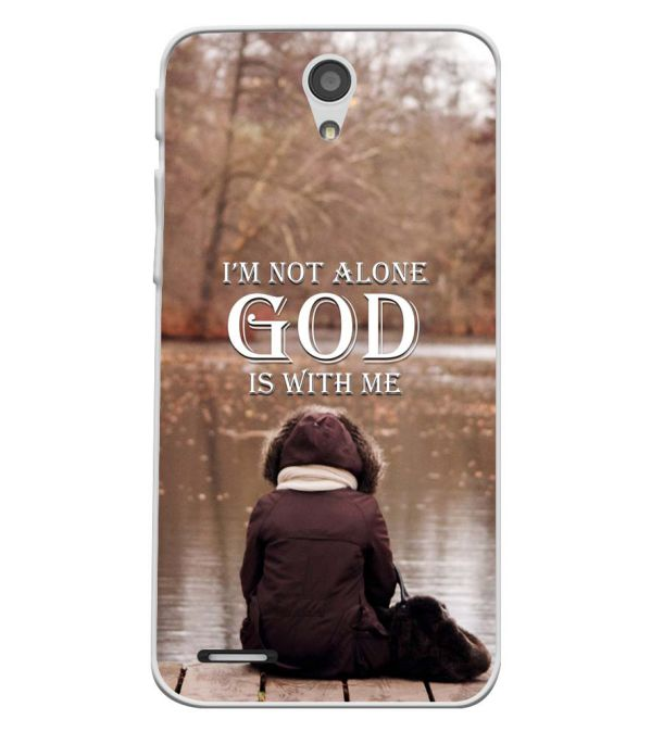 God is with Me Soft Silicone Back Cover for InFocus M260