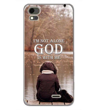 God is with Me Back Cover for Karbonn Aura Note 4G