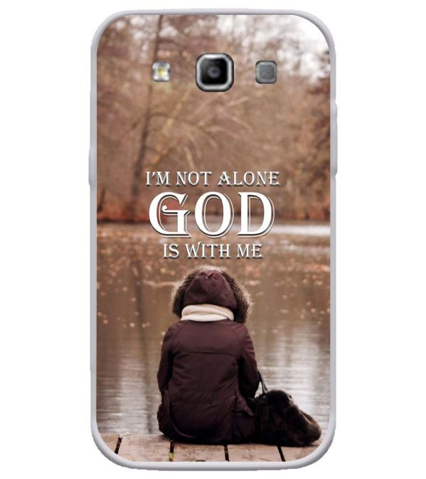 God is with Me Soft Silicone Back Cover for Samsung Galaxy Grand Quattro 8552