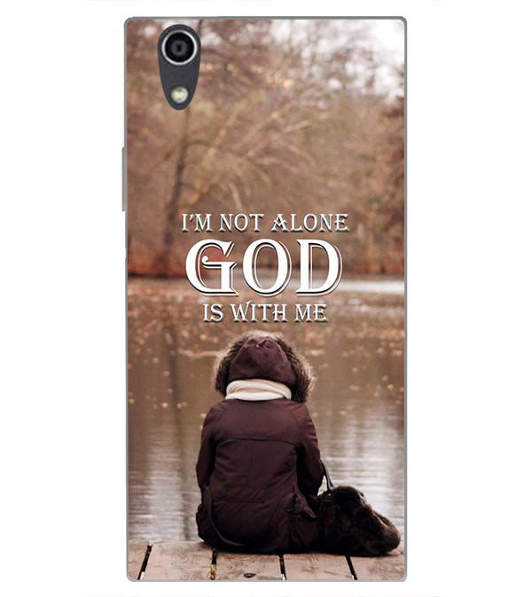 huge selection of f043b d91ed God is with Me Back Cover for Sony Xperia R1 Plus
