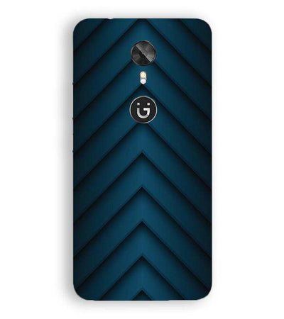 Going Up Pattern Back Cover for Gionee A1