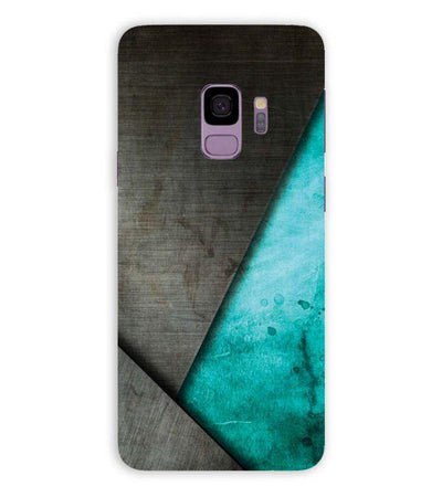 Grey and Green Back Cover for Samsung Galaxy S9