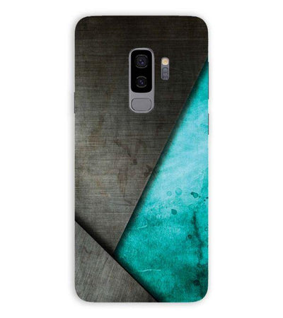 Grey and Green Back Cover for Samsung Galaxy S9+ (Plus)