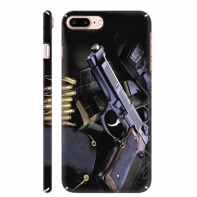 Guns And Bullets Back Cover for Apple iPhone 7 Plus