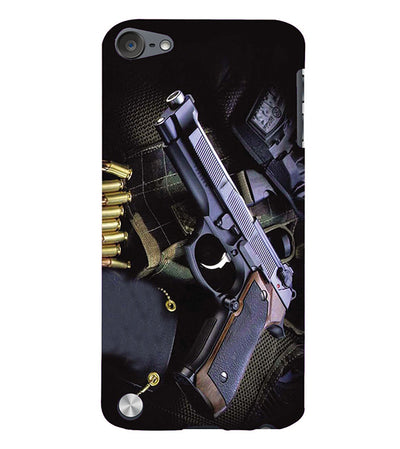 Guns And Bullets Back Cover for Apple iPod Touch 5