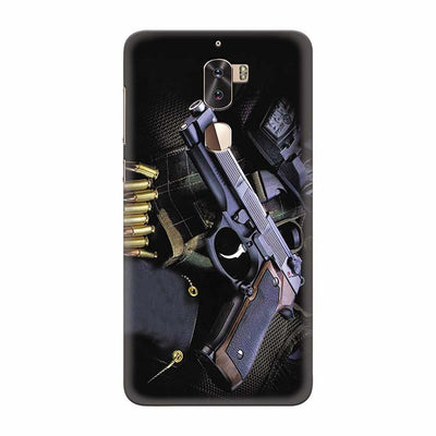Guns And Bullets Back Cover for Coolpad Cool 1