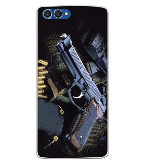 Guns And Bullets Back Cover for Homtom H3-Image3