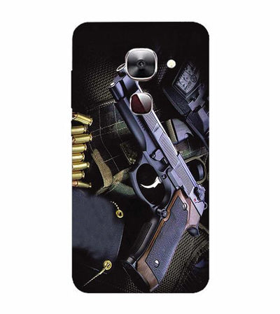 Guns And Bullets Back Cover for LeEco Le 2s