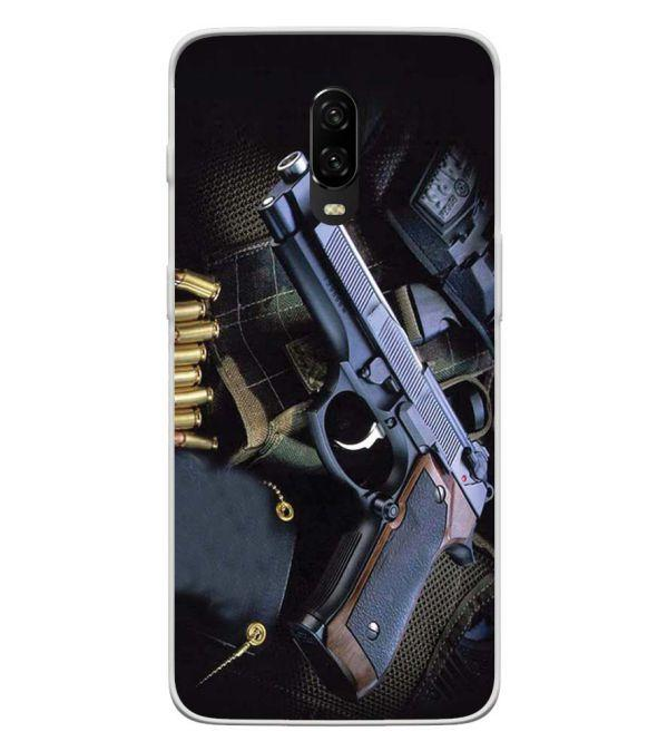 Guns And Bullets Back Cover for OnePlus 6T