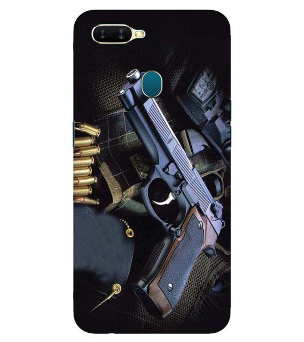 Guns And Bullets Back Cover for Oppo A7