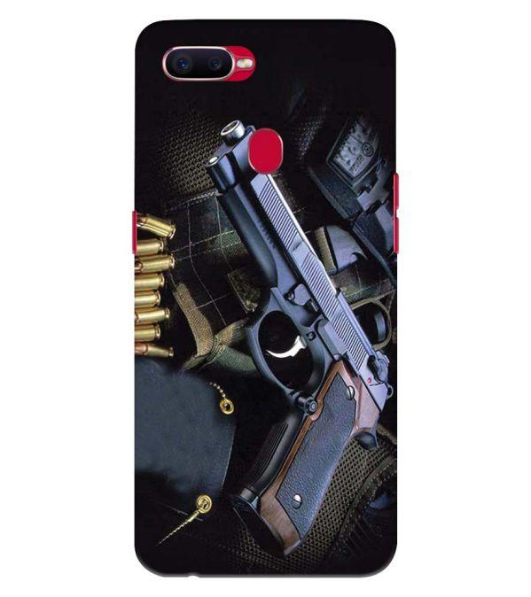 Guns And Bullets Back Cover for Oppo F9 Pro
