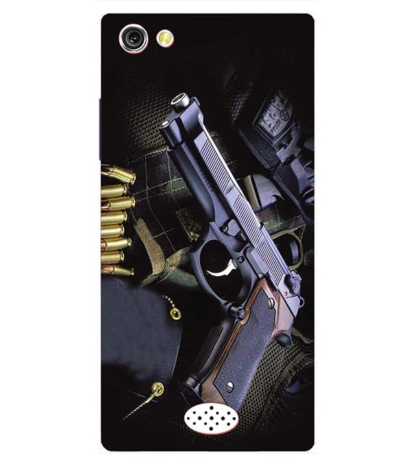 Guns And Bullets Back Cover for Oppo Neo 5