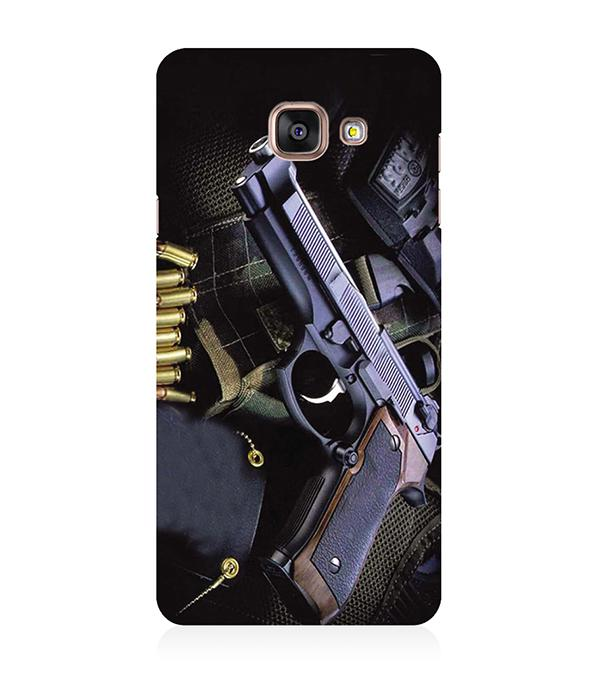 Guns And Bullets Back Cover for Samsung Galaxy A5 (6) 2016
