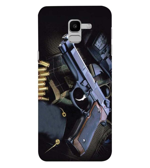 Guns And Bullets Back Cover for Samsung Galaxy J6 (2018)