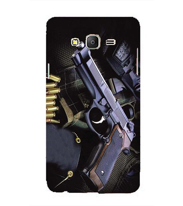 Guns And Bullets Back Cover for Samsung Galaxy On5 and On5 Pro