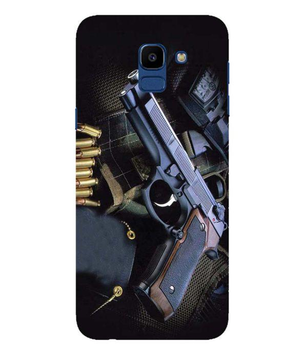 Guns And Bullets Back Cover for Samsung Galaxy On6