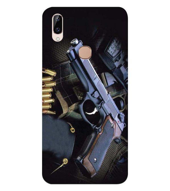 Guns And Bullets Back Cover for Vivo Y83 Pro