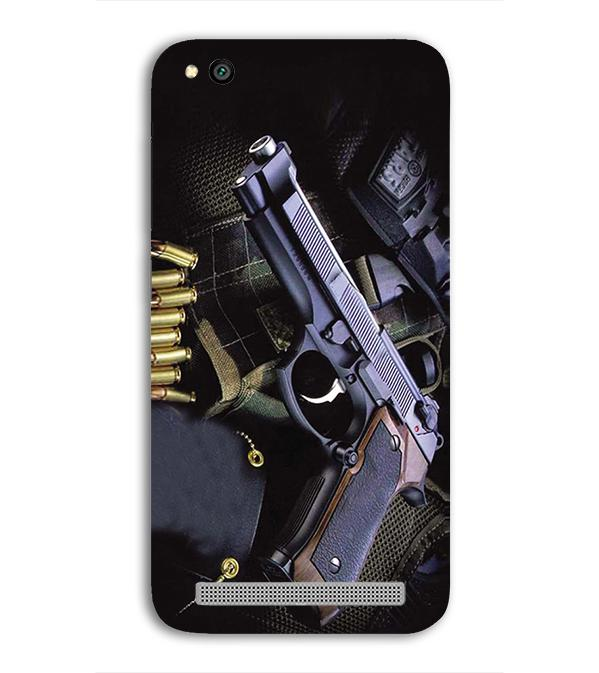 Guns And Bullets Back Cover for Xiaomi Redmi 5A