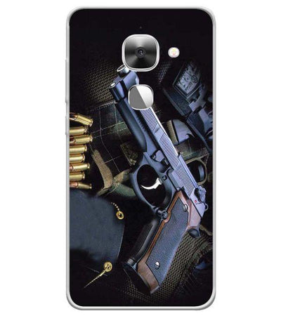Guns And Bullets Back Cover for LeEco Le 2s-Image3