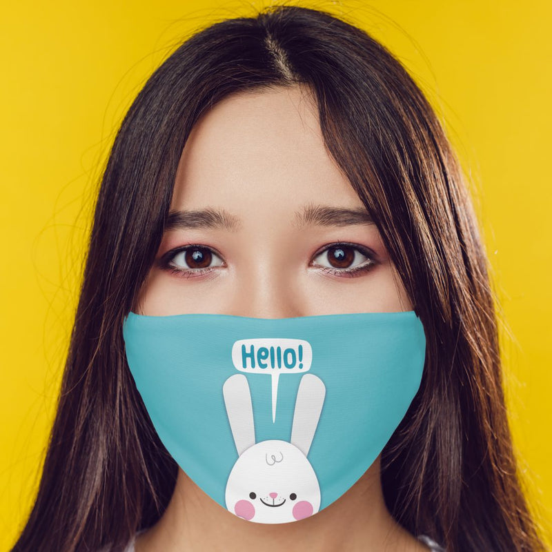 Hello Rabbit Mask