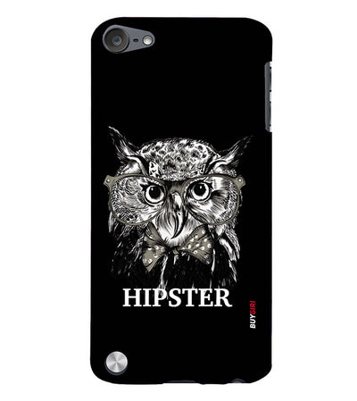 Hipster Owl Back Cover for Apple iPod Touch 5