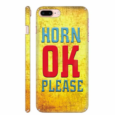 Horn OK please Back Cover for Apple iPhone 8 Plus