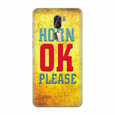 Horn OK please Back Cover for Coolpad Cool 1
