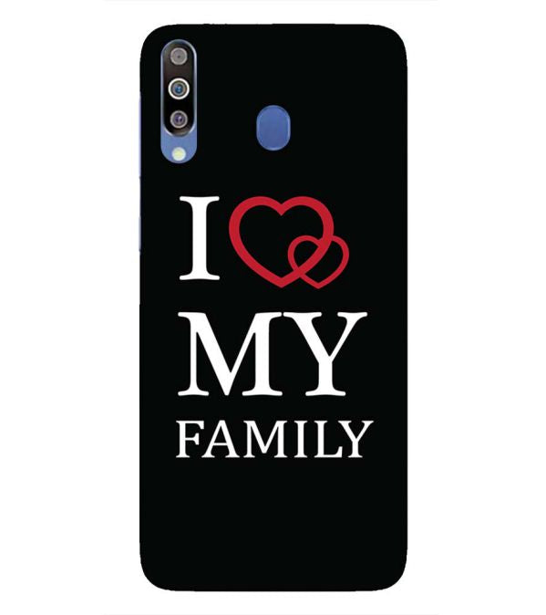 I Love My Family Back Cover for Samsung Galaxy M30